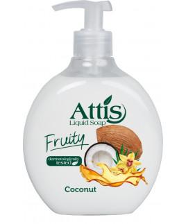 Attis tekuté mydlo s dávkovačom 500ml kokos