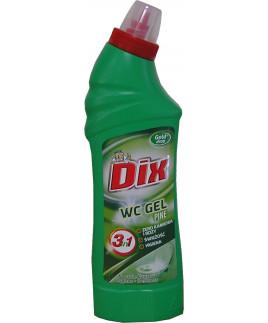 Dix WC gél 750ml borovica