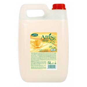 Attis tekuté mydlo 5L mlieko a med