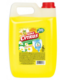 Gold citrus na riad 5L harmanček