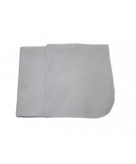 Denisa 40x35 cm, prachovka flanelová hrubá biela