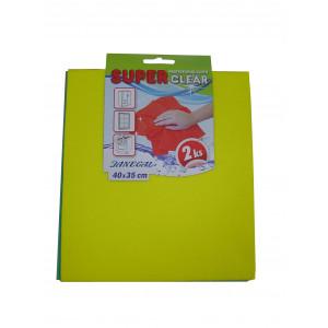 Superclear 40x35 cm 2ks v balení