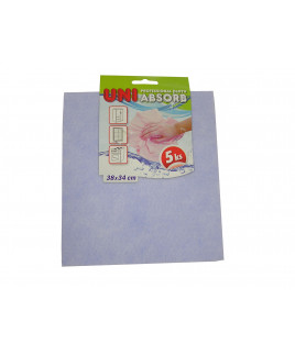 Uniabsorb 38x34 cm, Fmix bal. 3ks kartón