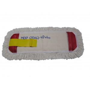 Mop kapsový úchyt Claro 50 cm bavlnený