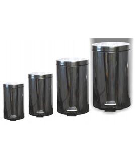 Kôš odpadkový 12 L nerezový okrúhly s pedálom