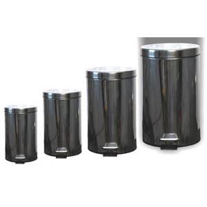 Kôš odpadkový 3 L nerezovy okrúhly s pedálom