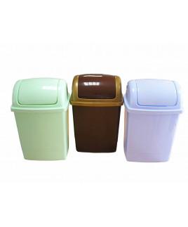 Kôš odpadkový 12 L plastový hranatý