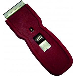 Škrabka 4 cm bezpečnostná s nožom plastová