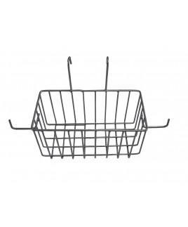 Košík na rukoväť lakovaný pre dvojvedrový vozík