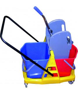 Vozík 2x17L plastový podvozok Janegal economic