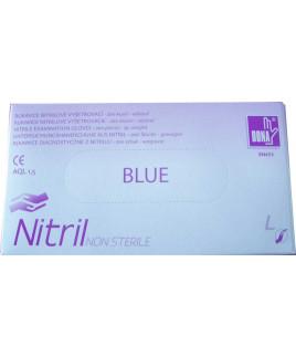 Rukavice jednorázové nitrilové 200ks L