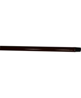 Tyč Klasik 120cm hnedá so závitom