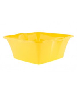 Lavór štvorcový plastový Fmix