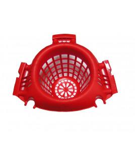 Košík pre WETmop set 15L červený IT