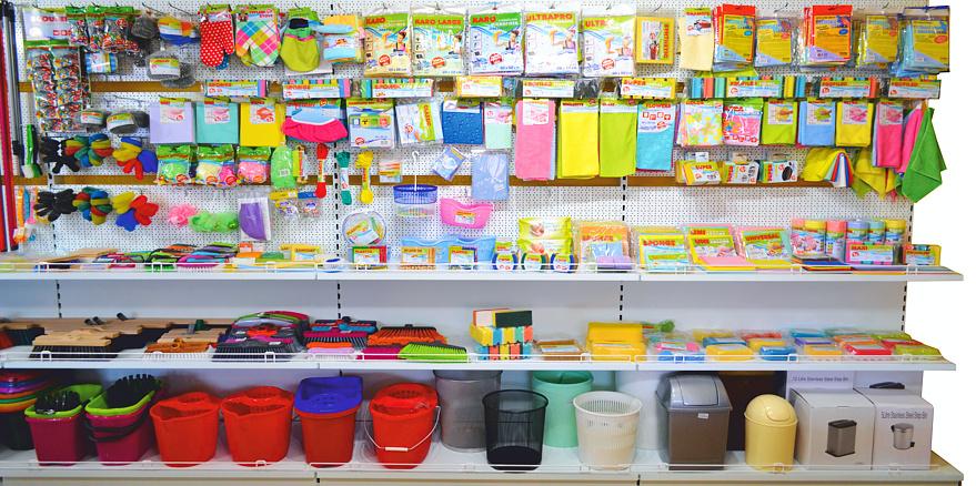 Drogistické potreby pre upratovanie a čistenie